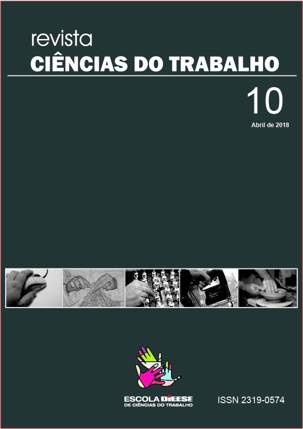 REVISTA CIÊNCIAS DO TRABALHO - 10